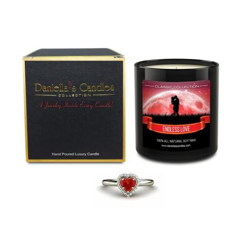 Bougie Bijou Parfum Amour sans Fin