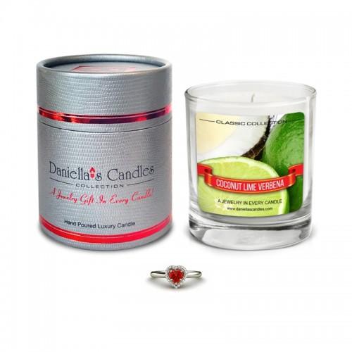 Bougie Bijou Parfum Noix de Coco et Citron Vert