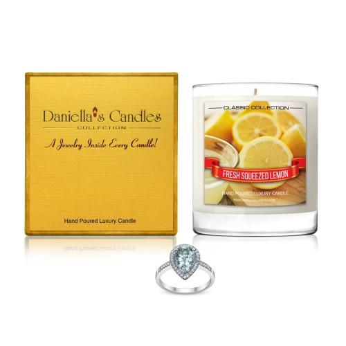 Bougie Bijou au parfum de Citron Frais