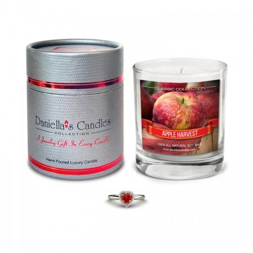 Bougie Bijoux Pomme