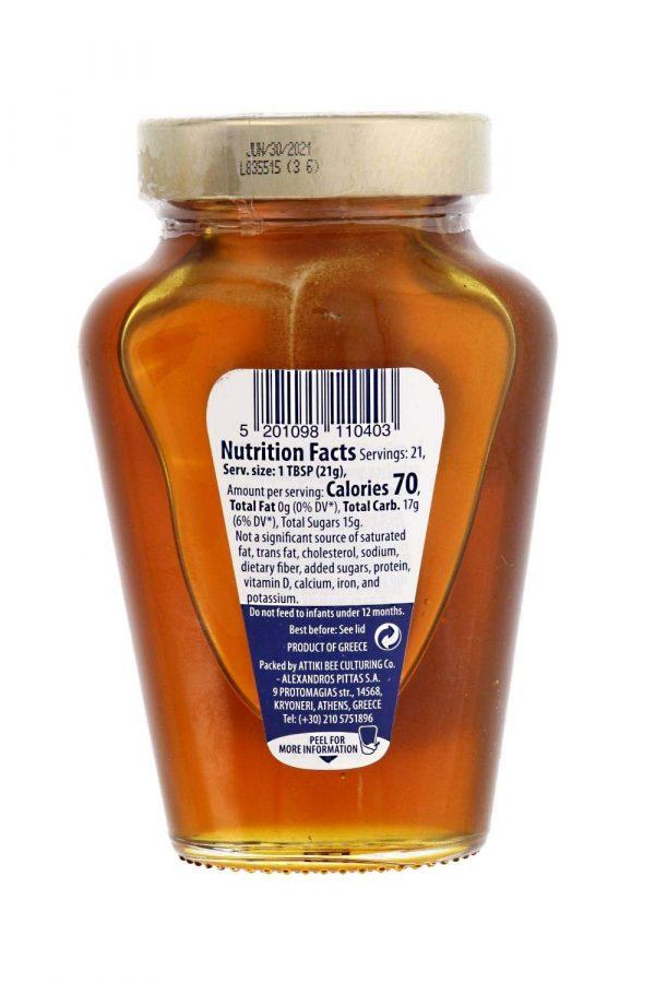Valeurs nutritifs du miel de grèce