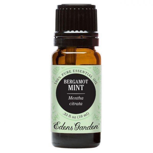 10 ML Huile essentielle de bergamote et de menthe