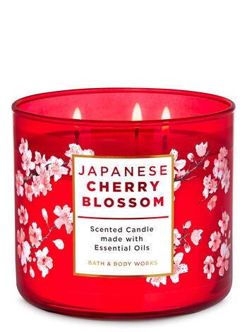 Bougie Parfumée à la Fleur de Cerisier Japonais