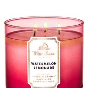 Bougie Parfumée à la Limonade de Pastèque