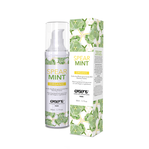 Gel de Massage comestible à la menthe verte