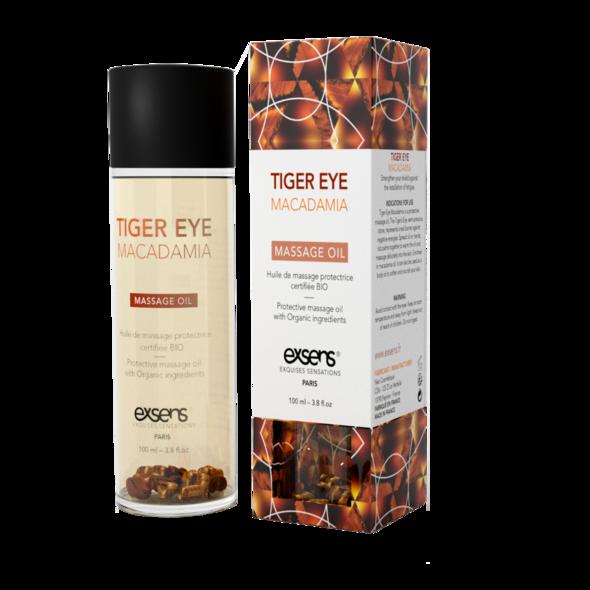 Huile de Massage Macadamia et Oeil de Tigre