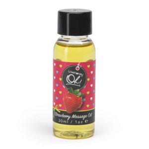 Huile de massage Cannabis à la fraise LoveHoney