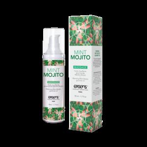 Huile de massage comestible au Mojito