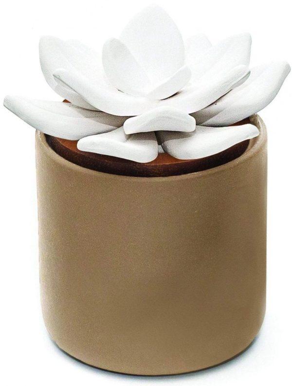 Diffuseur en céramique bloom taupe