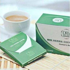 Les boîtes Bio Herbs au café