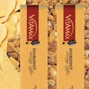 Les sachets vitamax doubleshot café et maca