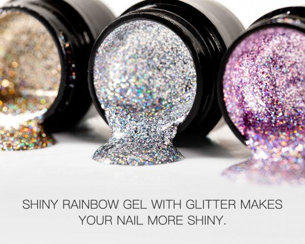 Gel Polysh Shiny Rainbow