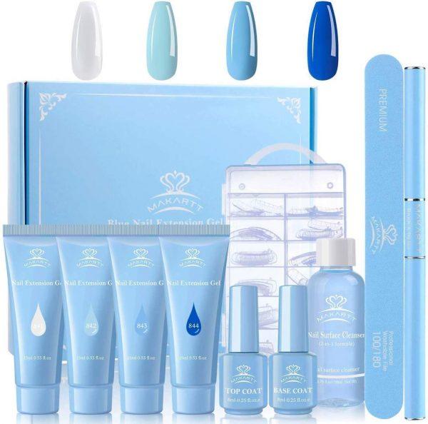 Kit Polygel Makartt Blue Collection