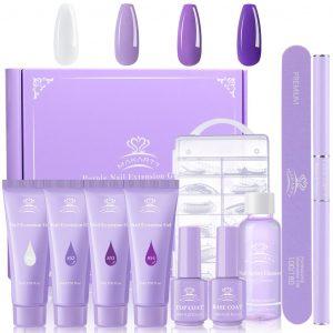 Kit Polygel Makartt Violet Collection