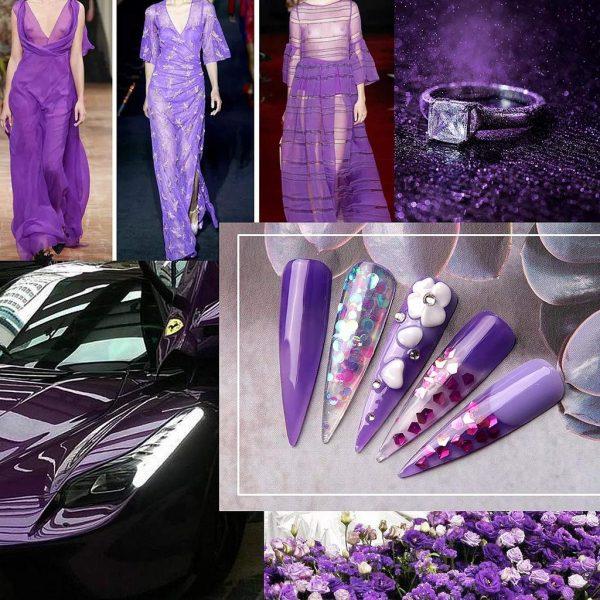 Makartt Collection Violet Purple Jam
