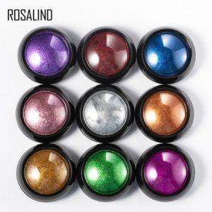 Poudre Acrylique Effet Chrome Rosalind