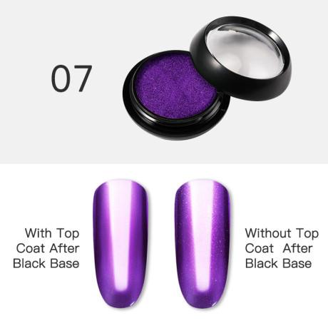 Poudre Acrylique Effet Chrome Rosalind 7