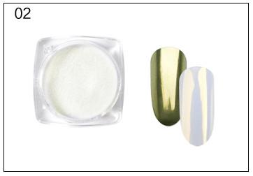 Poudre Acrylique Rosalind Effet Miroir 2