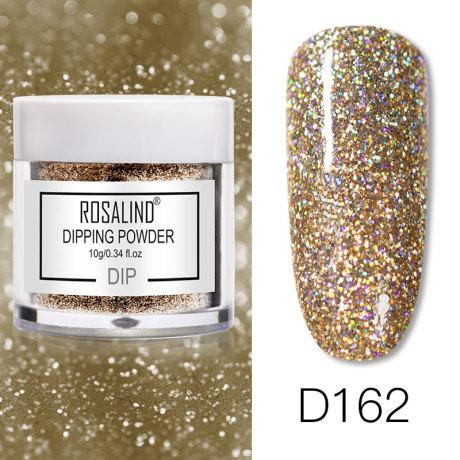 Rosalind Dip Powder Paillettes Gold D162