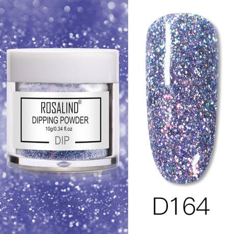 Rosalind Dip Powder Paillettes Gold D164
