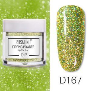 Rosalind Dip Powder Paillettes Gold D167