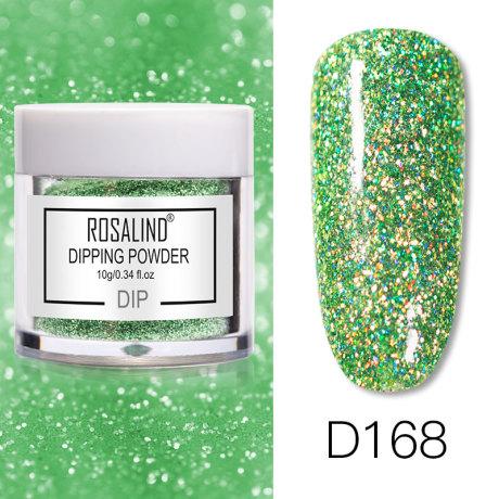 Rosalind Dip Powder Paillettes Gold D168