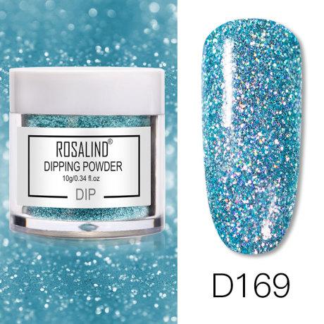 Rosalind Dip Powder Paillettes Gold D169