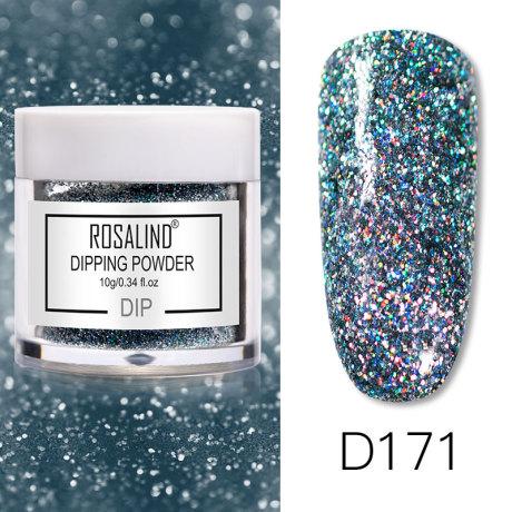 Rosalind Dip Powder Paillettes Gold D171