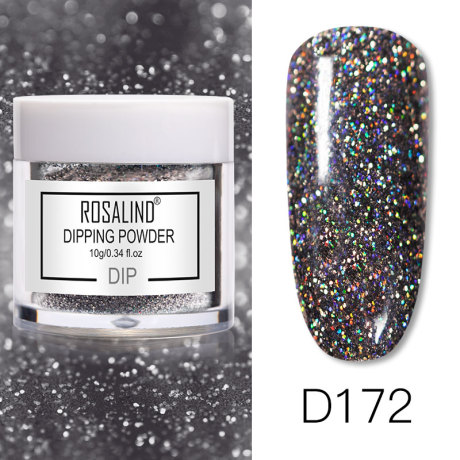 Rosalind Dip Powder Paillettes Gold D172