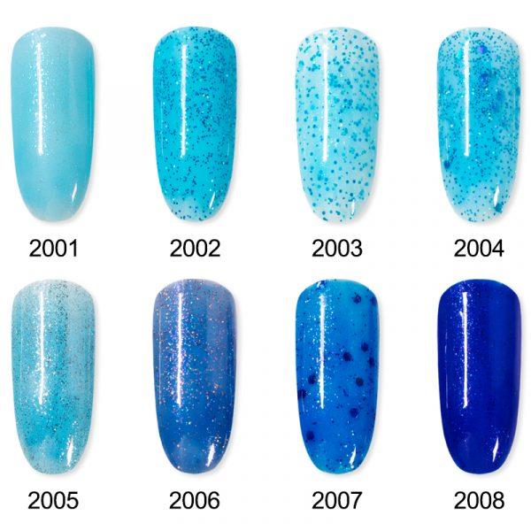 Rosalind Gel Polish Collection Bleu