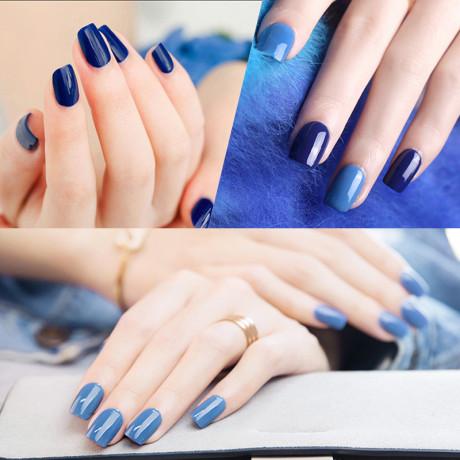 Rosalind Gel Polish Bleu Exemple