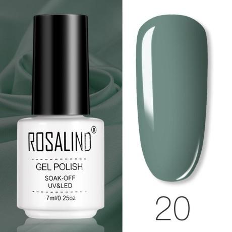 Rosalind Gel Polish Couleurs Pures 20