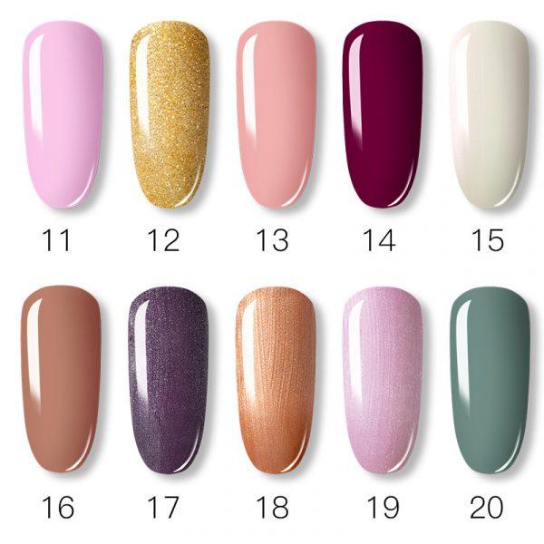 Rosalind Gel Polish Couleurs Pures Liste 2