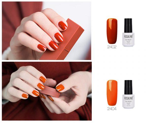 Rosalind Gel Polish Mango Exemple