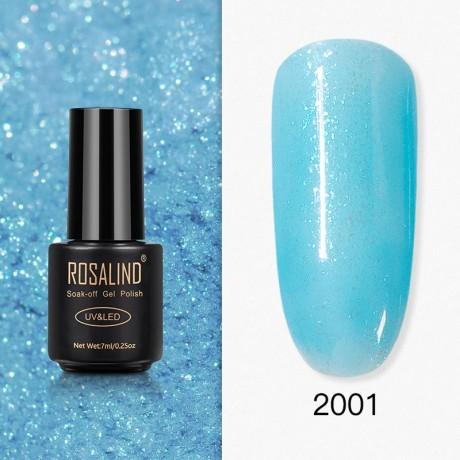 Rosalind Gel Polish Paillettes Bleutées 2001