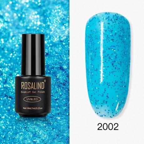 Rosalind Gel Polish Paillettes Bleutées 2002