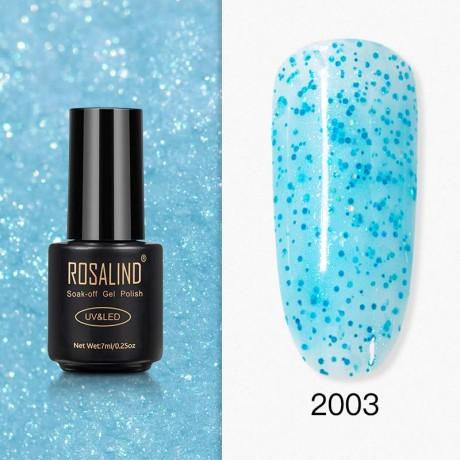 Rosalind Gel Polish Paillettes Bleutées 2003