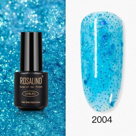 Rosalind Gel Polish Paillettes Bleutées 2004