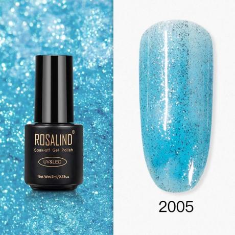 Rosalind Gel Polish Paillettes Bleutées 2005
