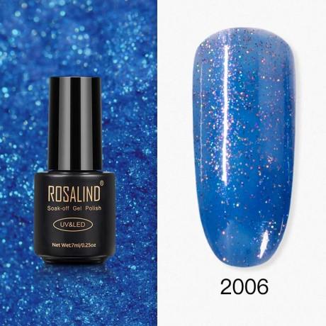 Rosalind Gel Polish Paillettes Bleutées 2006