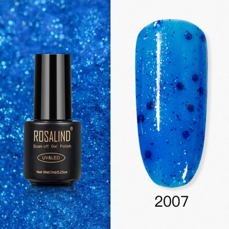 Rosalind Gel Polish Paillettes Bleutées 2007