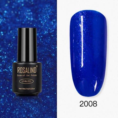 Rosalind Gel Polish Paillettes Bleutées 2008