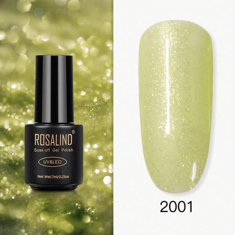 Rosalind Gel Polish Paillettes Jaunes 2001