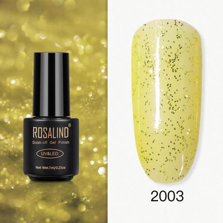 Rosalind Gel Polish Paillettes Jaunes 2003