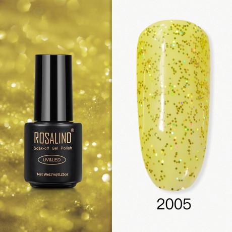 Rosalind Gel Polish Paillettes Jaunes 2005