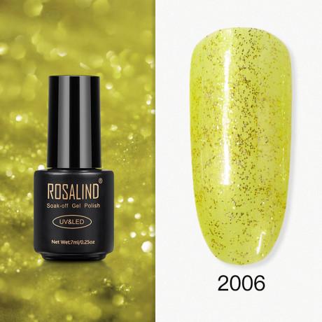 Rosalind Gel Polish Paillettes Jaunes 2006