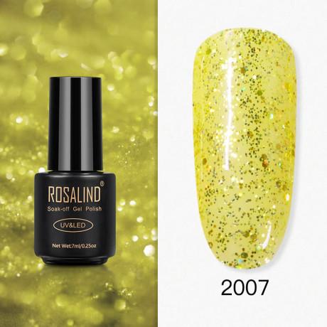 Rosalind Gel Polish Paillettes Jaunes 2007