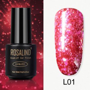 Rosalind Gel Polish Paillettes Meteore L01