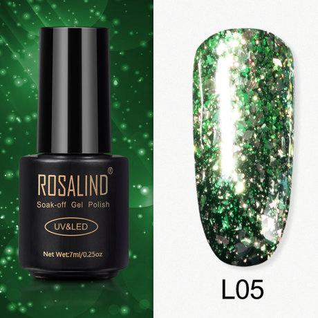 Rosalind Gel Polish Paillettes Meteore L05