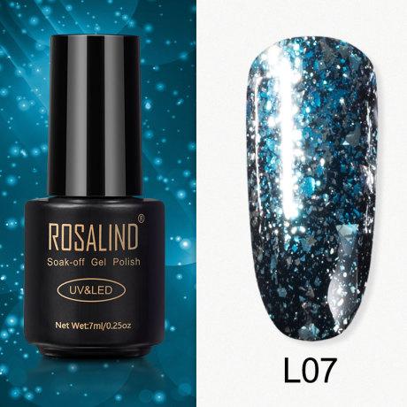 Rosalind Gel Polish Paillettes Meteore L07